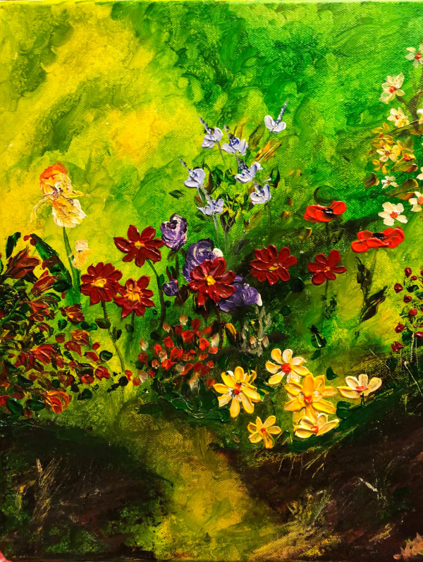 Floral Painting Fine Art Local Artists